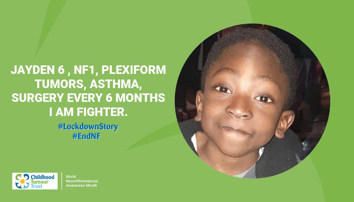 Jayden 6 , NF1, Plexiform tumors, Asthma,  surgery every 6 months I am fighter.