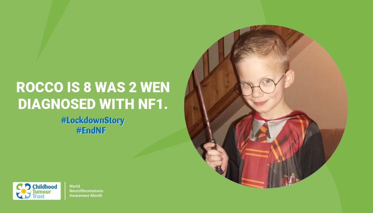 Rocco is 8 was 2 wen diagnosed  with nf1.