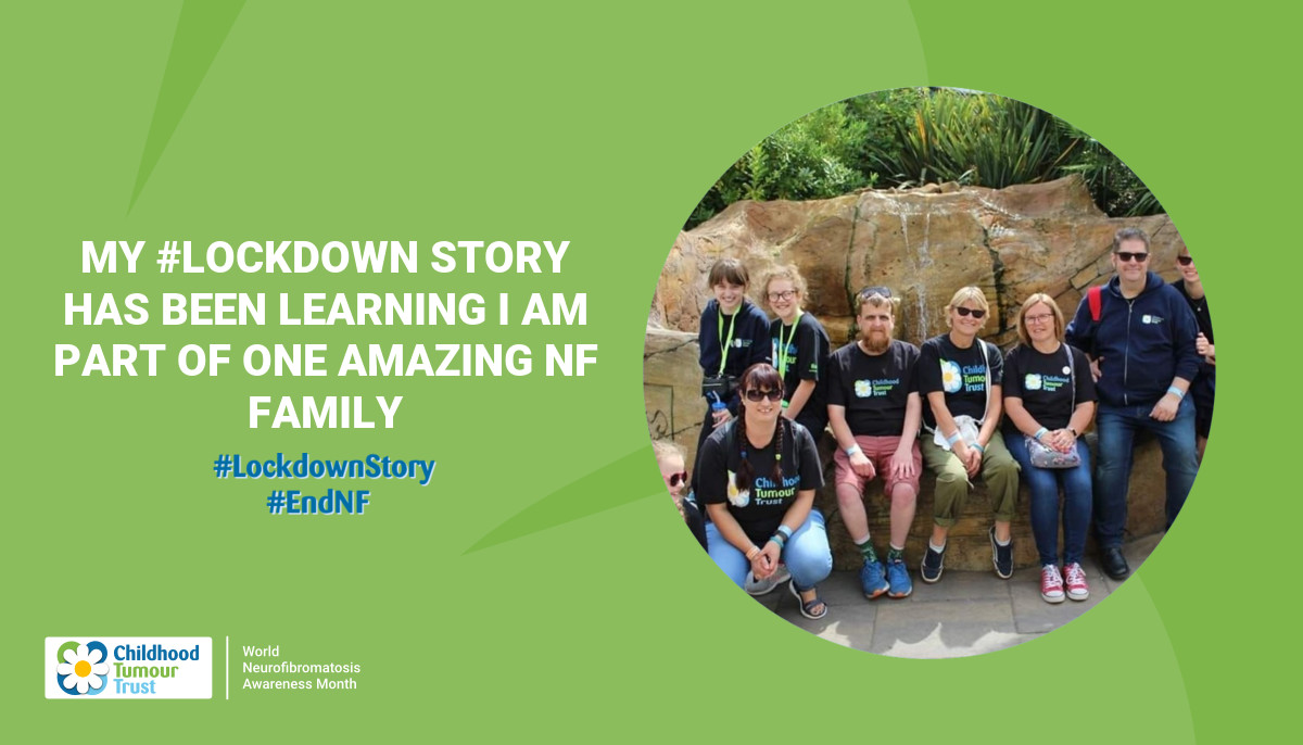 My #Lockdown Story has been learning I am part of one amazing NF  Family