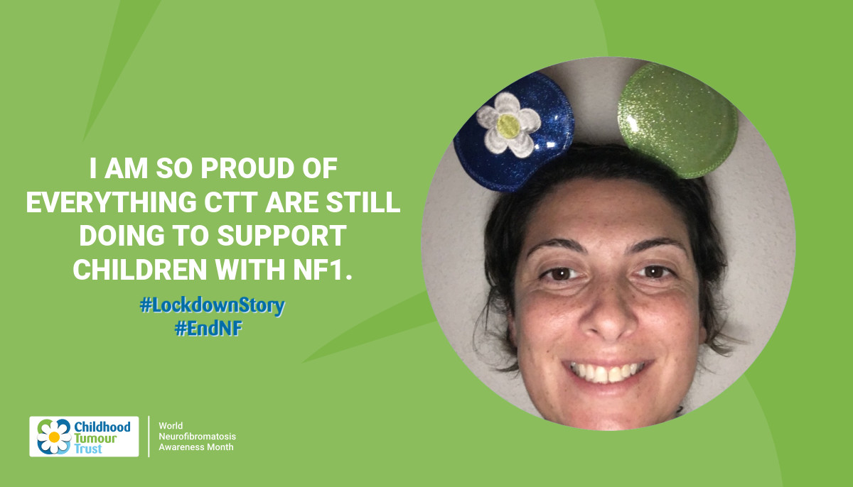 I am so proud of everything CTT are still doing to support children with NF1.
